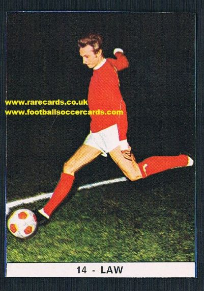 1971 Denis Law Monello Italy